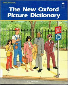 New Oxford Picture Dictionary and Beginner's Workbook isbn 0194341992 019434326x language arts LA2