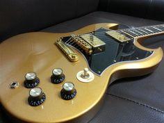 Gibson SG Standard Exclusive Bullion Gold | 17jt