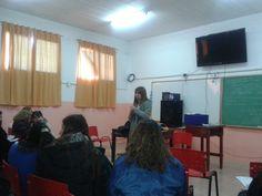 reunión del año de bibliotecarios de todos los niveles de San Miguel, en la escuela Técnica N°3