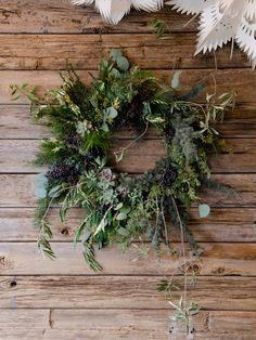 Image of Winter's Howl Wreath from Studio Choo