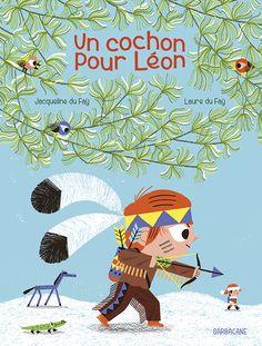 Léon n'est pas bien grand. Mais pour grandir, il lui faudrait un plus petit que soi. Alors quand il écrit sa lettre au Père Noël, il demande un cochon de maison, un vrai, qui vivrait dans sa chambr...