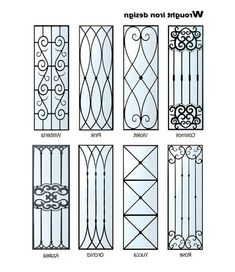 Top 55 Beautiful Grill Design Ideas For Windows - Engineering Discoveries Home Window Grill Design, Iron Window Grill, Grill Gate Design, Window Grill Design Modern, House Window Design, Door Gate Design, Railing Design, Window Bars, Iron Windows
