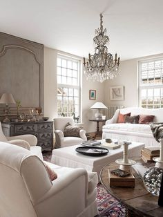 This would be a nice color for the great room with white slip covers. Possibly BM ~ Bennington Grey?