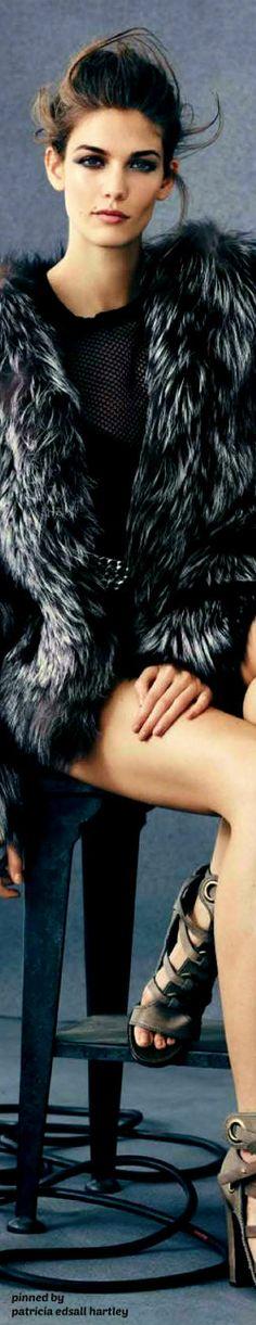 Kendra Spears - Vogue Spain - 2013