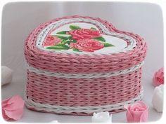 Всем привет! Совсем скоро мы будем праздновать День влюбленных. Вот такие плетеночки в форме сердец я подготовила к этому дню. фото 4