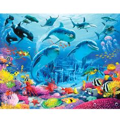 Our Baby-Cheap Baby Clothes : Sea Life Adventure Childrens Bedroom Wallpaper
