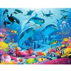 Walltastic Sealife Children's Bedroom Wall Mural