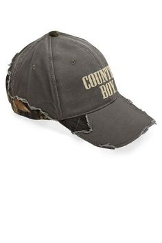 Frayed Mossy Oak® Cap - Country Boy® Logo