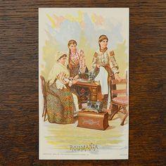 Postcards, Singer - Selvedge
