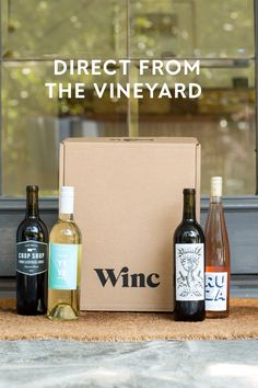 Wine direct from the vineyard to you. That means you are getting fine wines from top regions like Bordeaux, Napa Valley, and Tuscany - all at a FRACTION of the price you would pay in a store. Join thousands of satisfied customers nationwide - Discover Winc!
