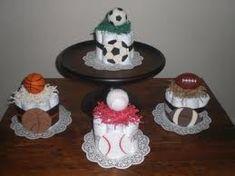 sports diaper cakes