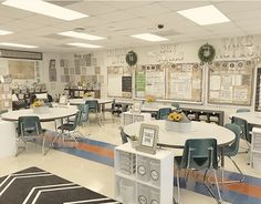 51 Best Classroom Decoration Ideas - Chaylor & Mads 51 amazing classroom decoration ideas including how to create a cozy reading nook, an amazing teacher space, awesome bulletin boards and wait until you see this Modern Classroom, Classroom Layout, Classroom Decor Themes, Middle School Classroom, New Classroom, Classroom Setting, Classroom Design, Kindergarten Classroom, Classroom Ideas