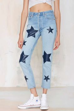 Star-Crossed High Waisted Jeans