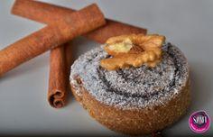 Nyomtasd ki a receptet egy kattintással Low Carb Recipes, Recipies, Muffin, Food And Drink, Keto, Sweets, Vegan, Breakfast, Croissant