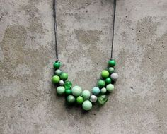 wooden bead necklace patterns - Google Search