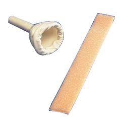Kendall-Covidien - 734600 - Uri-Drain Latex Self-Sealing Male External Catheter with Foam Strap, Medium 30 mm