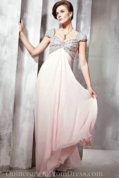 Chiffon Beading Maternity Best Cheap Evening Prom Dress With Sleeves Designs Online