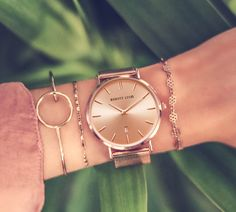 Trendy Watches, Popular Watches, Elegant Watches, Luxury Watches For Men, Beautiful Watches, Or Rose, Rose Gold, Luxury Watch Brands, Accesorios Casual