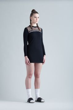 Logo Mini Dress via Edward Stothers. Click on the image to see more!
