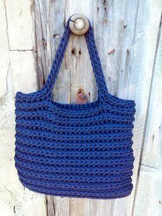 Knitted Bags/ Rope Bags/ Handmade Bags/ Crochet by NataNatastudio