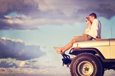 Engagement / Anniversary Photography - Jeep / Truck