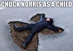 Chuck Norris as a child.