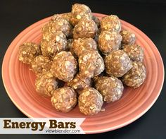 Homemade Energy Bars - Packed with protein and easy to make