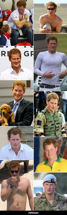 The best pictures of Prince Harry!