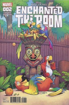 Cover for Enchanted Tiki Room (Marvel, 2016 series) #2
