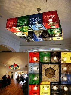 recyclable chandelier