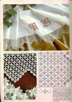 many charts for crochet borders.. #inspiration_crochet_diy GB ...