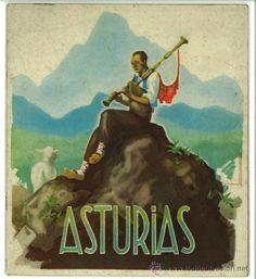 Gaitero. Asturias.