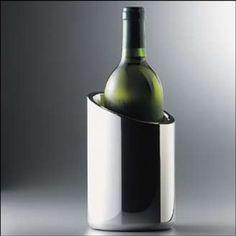 Nambe Tilt Wine Chiller in Harvest 2012 from International Wine Accessories