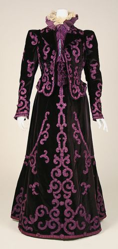 Evening suit, late 1890's, Jeanne Paquin