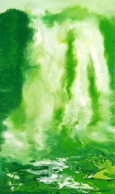 This is oil-falls5 / Oil on canvas, 2011 /