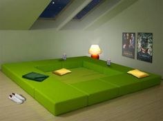 Bed, couch and table all in one!