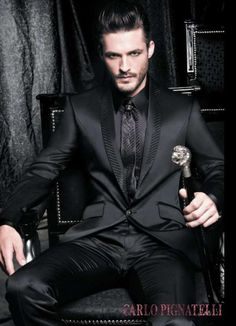 You Don't Want to Mess With the Carlo Pignatelli Spring 2011 Collection #suits #mensfashion trendhunter.com