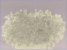 Secret London: Illustration by Beverley Gene Coraldean London Illustration, Giclee Print, Screen Printing, Fine Art Prints, The Secret, Posters, Beautiful, Detail, Products