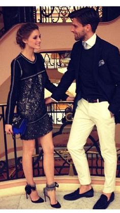 Olivia Polermo and bf. so much classiness