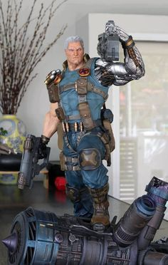 Cable Xmen, Cable Marvel, Marvel X, Marvel Heroes, Comic Book Characters, Comic Book Heroes, Marvel Characters, Comic Books Art, Predator Action Figures