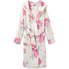 Women s Joules Rita Dressing Gown ( 38) ❤ liked on Polyvore featuring  intimates ac5433c82