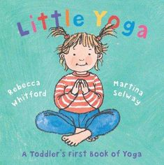 Yoga Baby spreads his arms out like a butterfly . . . Yoga Baby wobbles like a…