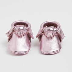{ Frosted Rose - Limited Edition Moccasins  $60 }