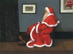 Whistler's Father Christmas - Carol Lawson