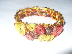 Tri Color Wire Bracelets