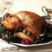 Apple-Shallot Roasted Turkey