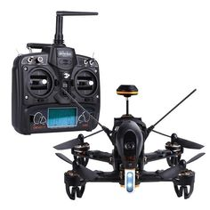 Walkera F210 5.8GHZ Complete RTF FPV Racing Drone with DEVO7 Remote Control & Battery Included