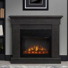 Pearl Mantels Hadley Fireplace Shelf Mantel & Reviews | Wayfair Indoor Electric Fireplace, Electric Fireplace With Mantel, Electric Fireplace Reviews, Fireplace Mantel Surrounds, Grey Fireplace, Fireplace Shelves, Home Fireplace, Fireplace Inserts, Fireplace Design