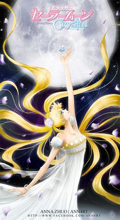 THIS IS A FAN ART, NOT OFFICIAL WORK EDIT3: Okay now that Sailor Crystal is out, we all know her hair is going to be YELLOW! So I changed it back to yellow hehe. EDIT2: OKAY I went with S...