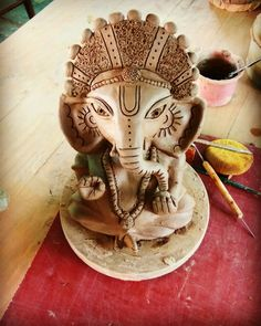 Ecofriendly Ganpati Statue